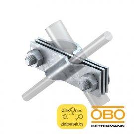 Клемма 2760 20 FT для соединения стержней d=20 мм с проводниками d=8-10 мм