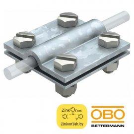 Клемма 252 8-10XFL30FT для крестового соединения проволоки и плоских шин